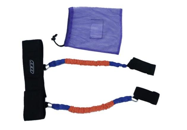 Leg stretch vertical jump trainer resistance bands set