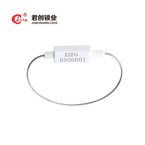 Pull tight galvanized steel cable seal