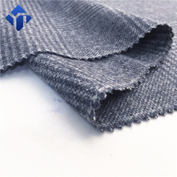 Fashion And Popular Plaid Flannel Wool