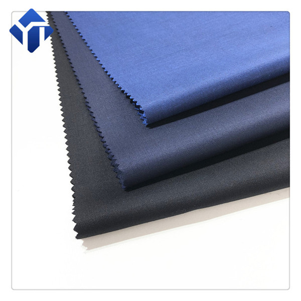 China manufacturer supply twill polyester wool suit  fabric
