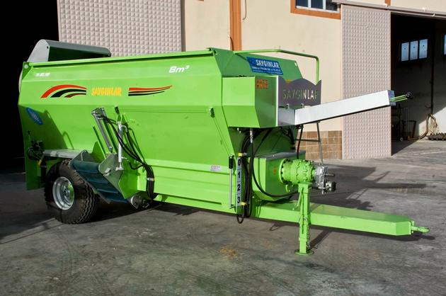 TMR Wagon Feed Mixer 8m3 Double Helıx - Foreign Trade Online