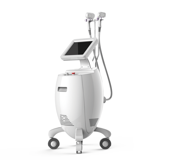 Double-handle Laser Hair Removal Machine for sale