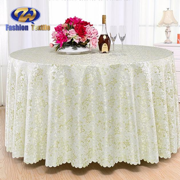 Banquet overlays tablecloth for round table