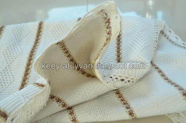 Yanzhen cotton polyester sofa cover fabric woven fabric