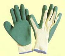 PVC/Latex/Nitrile dotted or dipped gloves