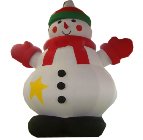 snowman inflatable,Christmas holiday