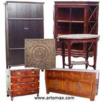 Asian style authentic antique furniture