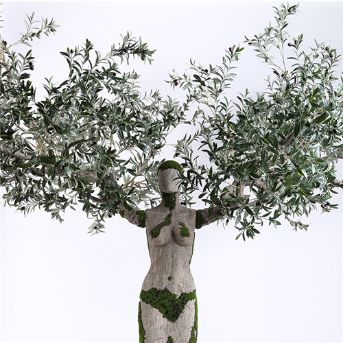 Artificial Silk Olive Tree