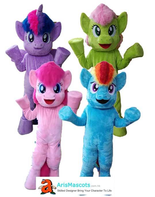 8dfa28ae8 My little Pony character mascot costume, custom made mascots, cartoon  character mascot suit