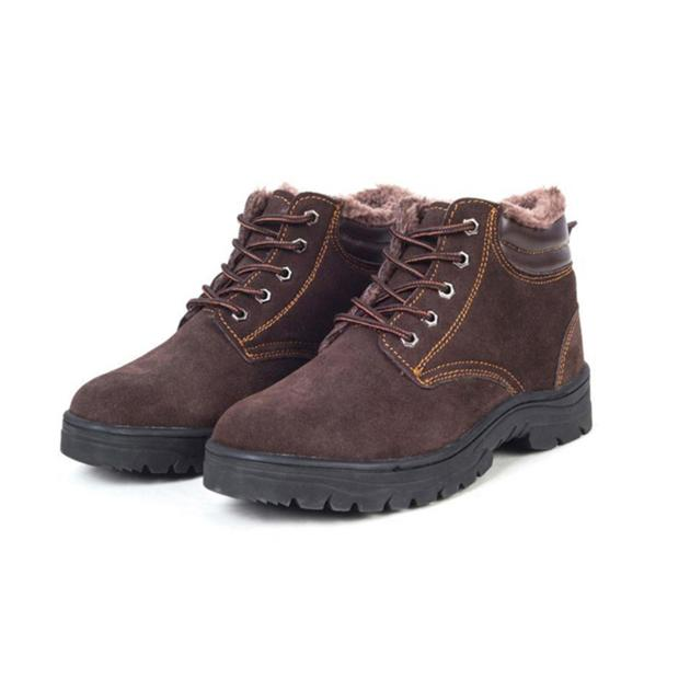 Warmly Winter Safety Shoes Steel Toe Industrial Safety Shoes