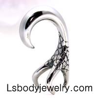 #1 Body Piercing Jewelry 316L Surgical Steel Casting Hawk Claw