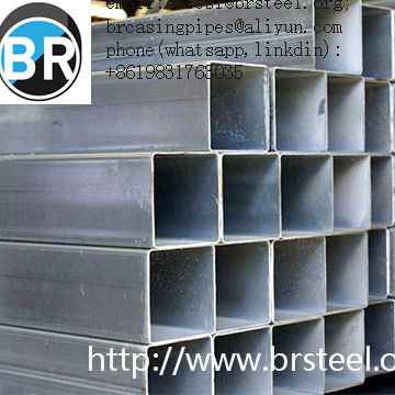 Rectangular&square hollow section tube,anti-rust oil,black painting, galvanizing hollow section tube