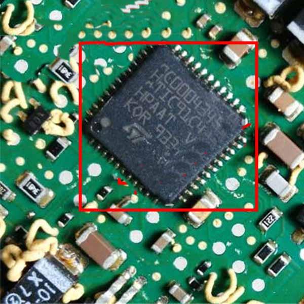 QFP A2C00043451 ATIC91C4 Car Computer Board ECU Computer Chip