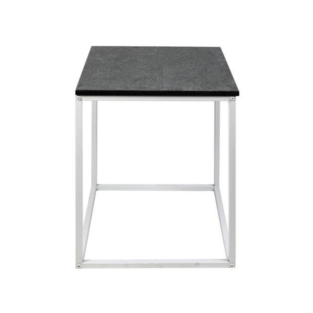 CT002 Lazio unique round nero margiua marble coffee tables
