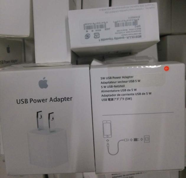 wholesale original apple charger 5w A1385 retail pack