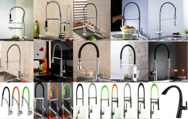 pull-out kitchen sink mixer tap faucets