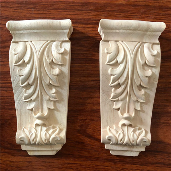 Rubber Wood Carving Corbel For Furniture