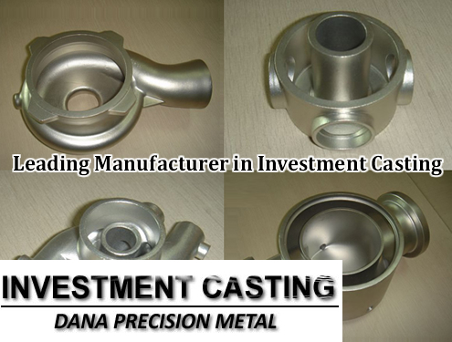 Leading manufacturer in investment casting in China