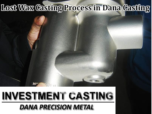 Lost wax casting manufacturer in China