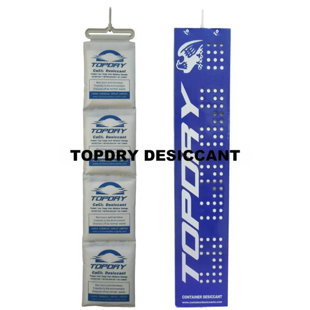 TOPDRY Brand New Cacl2 Container Desiccant Pack Instead Of Silica Gel Bags