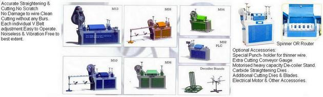 Wire straightening & Cutting Machine-automatic