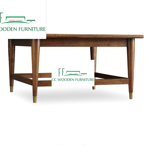 Simply style oak wood rockwell coffee table