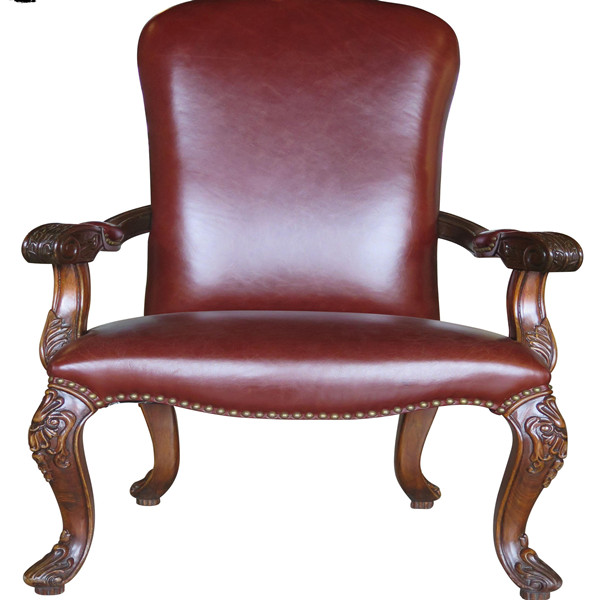 Classical Wood Study Room Chair Ash