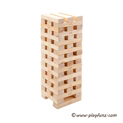 Wooden Gaint Hi-tower -60pcs