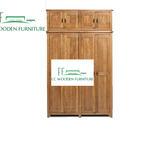 Classical wood wardrobe Elm wardrobe closet wardrobe armoire