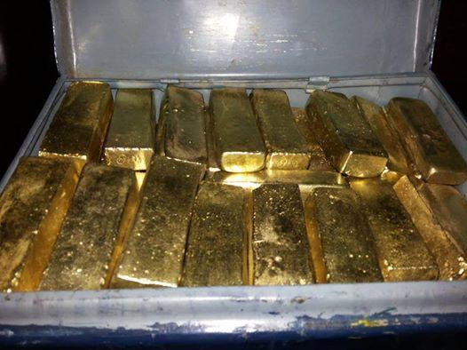 GOLD, GOLD BARS, COPPER CATHODES, COBALT