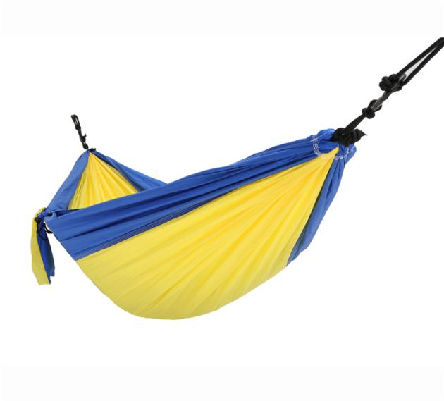 Lightweight Portable Double Person Nylon Taffeta Parachute Camping Hammock with Customized Color