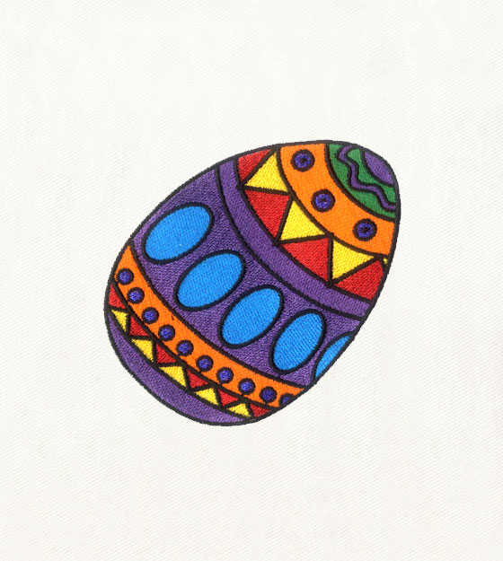 BEAUTIFULLY DECORATED EASTER EGG EMBROIDERY DESIGN