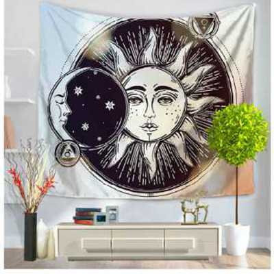 Skull Tapestry Hippie Exotic Printed Tapestry Polyester Mandala Wall Hanging Gobelin Home Decor 130x