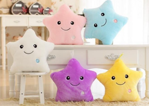 Led Lamp Luminous Pillow Colorful Luminous