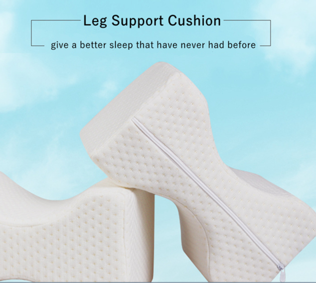 Orthopedic Memory Foam Knee Wedge Pillow