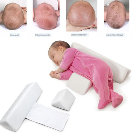 Newborn Baby Shaping Styling Pillow Anti-rollover Side Sleeping Pillow Triangle Infant Baby Position