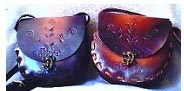 Handcrafted Leather Handbag  --2