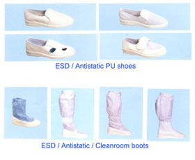 ESD/cleanroom shoes,boots
