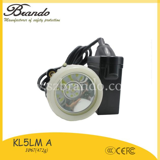 KL5LM A Explosion-proof miners cap lamp with 1.4m/1.65m
