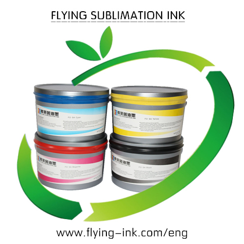 Dye sublimation ink for polyester printing
