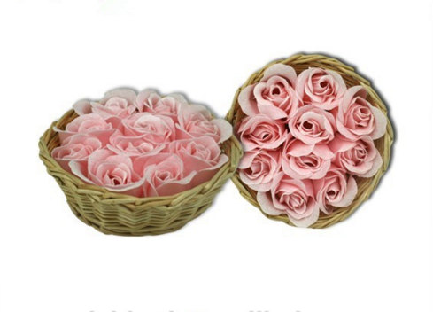 Artificial Perfumed Soap Flower for Sale for Wedding and Valentine Gift
