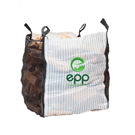 Firewood ventilated big bag vented log bag breathable bag for potato agricultural ventilated bag
