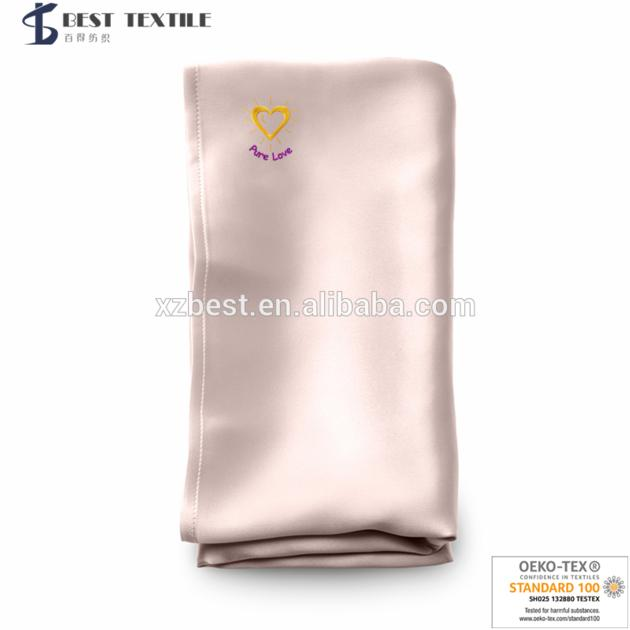 SOLID COLOR 22MM 100% MULBERRY CHARMEUSE SILK PILLOWCASES
