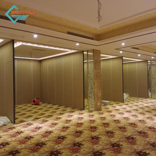 New Modern Hotel Office Sound Proof Conference Meeting Room Movable Partition Wall