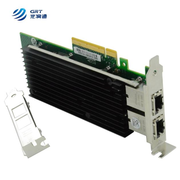 PCIe Intel X540-T2 Ethernet Network Interface Card Multi port RJ45 Lan Card