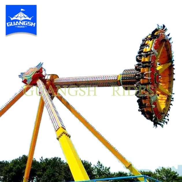 Amusement Park Exciting Rides Super Thrilling