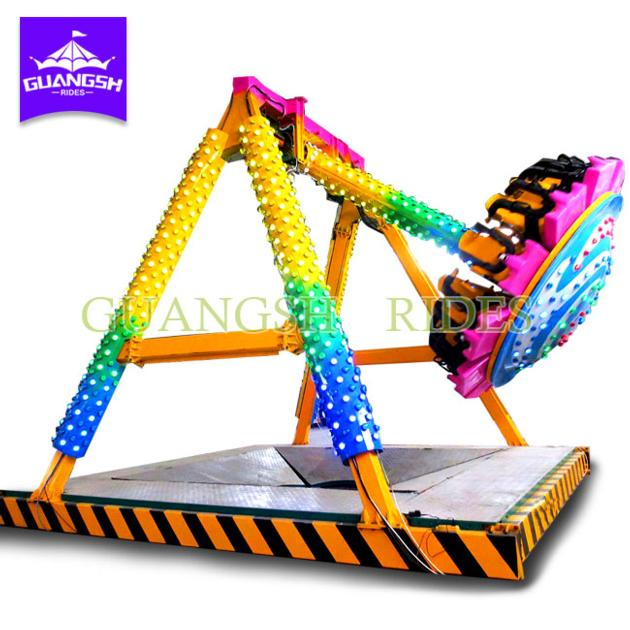 Hot Sale Theme Park Rides Kids Game Small Pendulum 12 Seats Attractions for Children
