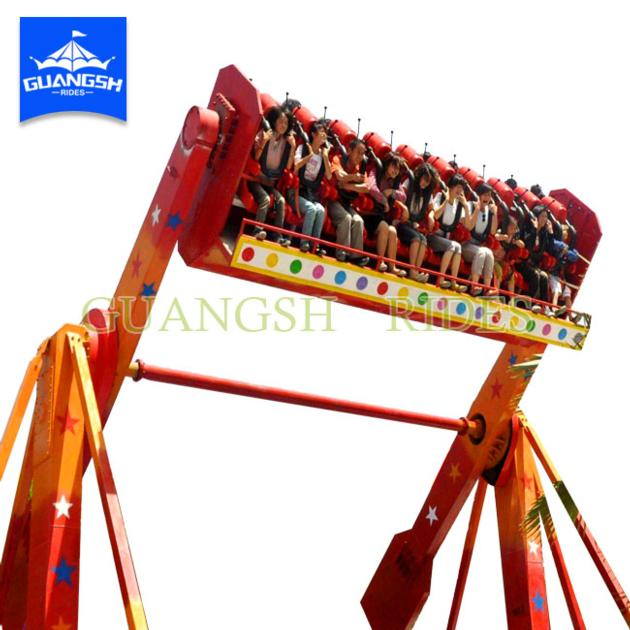 Amusement Park Thrill Ride Spinning Top Equipment Top Spin for Adults