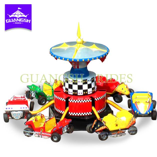 Exciting Amusement Park Rides Outdoor Bounce Electric Jumping Cars for Adult and Children