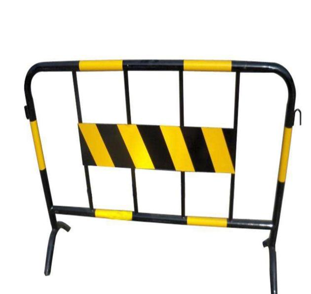 Cheap galvanized portable crowd control barrier from Chinese plant manufacturer